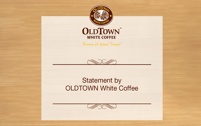 STATEMENT ON OWNERSHIP OF OLDTOWN WHITE COFFEE